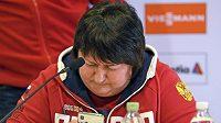 Šéfka ruského lyžování Jelena Vjalbeová se tvrdě opřela do svých svěřenkyň.