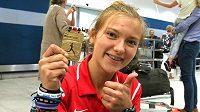 Barbora Malíková se z Keni vrátila se zlatou medailí.
