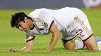 Kaká po comebacku v dresu AC Milán se v utkání proti FC Turín zranil.