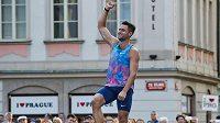 Jan Kudlička zvítězil posedmé za sebou výkonem 570 centimetrů v Pražské tyčce.