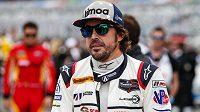 Fernando Alonso v Daytoně.