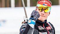 Český biatlonista Ondřej Moravec byl druhý ve sprintu Světového poháru v Kontiolahti.