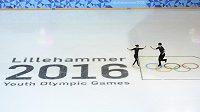 Zimní olympiáda mládeže v Lillehammeru, ilustrační snímek z tréninku krasobruslařů.