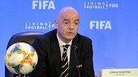 Prezident FIFA Gianni Infantino usiluje, aby už na MS 2022 hrálo 48 týmů.