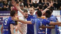 Volejbalisté Beskyd vyhráli a poslali konkurenta z Ústí do baráže (ilustrační foto)