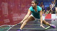 Nejlepší světová squashistka Raním Veliliová v jednatřiceti letech ukončila kariéru.