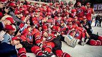 Hokejisté Banské Bystrice extraligový titul neobhájí. Play off nejvyšší slovenské soutěže bylo zrušeno.