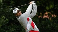 Australský golfista Adam Scott na British Open