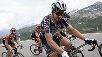 Peter Sagan na trati závodu Kolem Švýcarska.