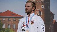 Kanoista Michal Jáně vybojoval na Světovém poháru ve vodním slalomu v Krakově třetí místo.
