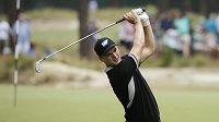 Německý golfista Martin Kaymer během druhého kola US Open.