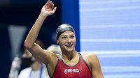 Plavkyně Barbora Seemanová na mezinárodní lize ISL v Neapoli vylepšila další dva své české rekordy