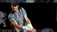 Andy Murray na turnaji v Římě vypadl ve druhém kole.