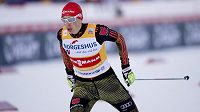 Eric Frenzel během závodu v Trondheimu.