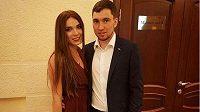 Alexandr Loginov s manželkou