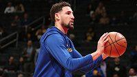 Hvězdný hráč NBA Klay Thompson si přetrhl achilovku a nezasáhne ani do příští sezony.