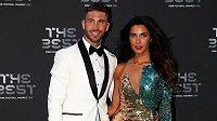 Sergio Ramos v sobotu pojme za manželku televizní moderátorku Pilar Rubiovou.
