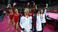 Radost amerických gymnastek