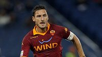 Hrající legenda AS Řím Francesco Totti