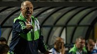 Luiz Felipe Scolari ještě na lavičce brazilského týmu Palmeiras.