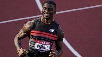 Americký sprinter Trayvon Bromell - ilustrační foto