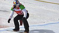 Snowboardkrosařka Eva Samková během světového šampionátu v Sierra Nevadě.