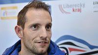 Světový rekordman ve skoku o tyči Renaud Lavillenie z Francie, který se zúčastní mítinku Jablonec Indoor Gala.