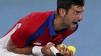 Největší favorit turnaje tenistů na olympiádě Novak Djokovič vypadl v semifinále.