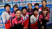 Korejské stolní tenistky