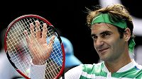 Roger Federer může být se svými výkony na Australian spokojený. Bude jeho výkon stačit na Novaka Djokoviče.