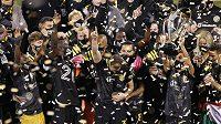 Hráči Columbusu slaví svůj triumf v americké MLS po 12 letech.