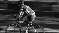 LeRoy se nechce vzdát ničeho, ani závodění na kole.