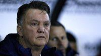 Nizozemský kouč Louis van Gaal je na lavičce Manchesteru United pod pernamentním tlakem.