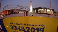 Pohled na stadion v Dauhá.