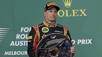 Räikkönen se po sezóně bez F1 vrátil ve výborné formě a vyhrál na okruhu v Melbourne.