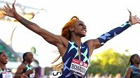 Americká sprinterka Sha'Carri Richardsonová.