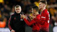 Manažer Manchesteru United Ole Gunnar Solskjaer zůstane na Old Trafford další tři roky.