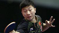 Čínský stolní tenista Ma Long.