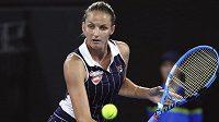 Česká tenistka Karolína Plíšková postoupila do semifnále turnaje Brisbane International.