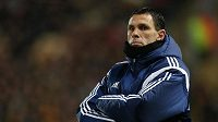 Odvolaný trenér Sunderlandu Gustavo Poyet.