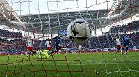 Hoffenheimský Nadiem Amiri proti Lipsku otevřel skóre, ale z vítězství se nakonec radoval soupeř.