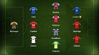 Nejproduktivnější jedenáctka šestého kola Premier League