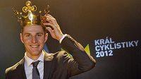 Biker Jaroslav Kulhavý se stal potřetí za sebou vítězem tuzemské ankety Král cyklistiky.
