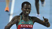 Keňská běžkyně Pamela Jelimová