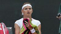 Lucie Šafářová nebyla podle kouče Roba Steckleyho ve Wimbledonu v psychické pohodě.