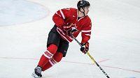 Útočník Connor McDavid vstřelil třetí gól Kanady v přípravném utkání proti Česku.