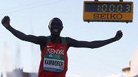 Keňan Geoffrey Kipsang Kamworor vyhrál MS v půlmaratónu.