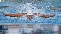 Americký plavecMichael Phelps během závodu ve městě Mesa.