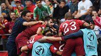 Portugalští hráči v semifinále ME 21 v Olomouci rozdrtili Německo.