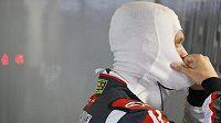Romain Grosjean způsobil během Velké ceny Španělska hromadnou nehodu.